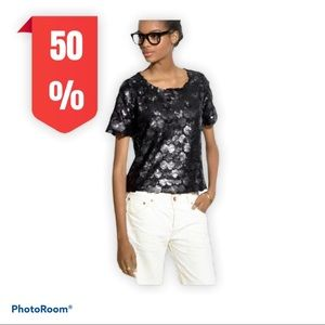 Broadway&broome sequin black too by Madewell